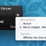 Lors de l'enregistrement vidéo de l'écran, pensez à activer votre micro !