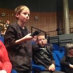 Questions d'élèves sur les travaux présentés par les autres groupes